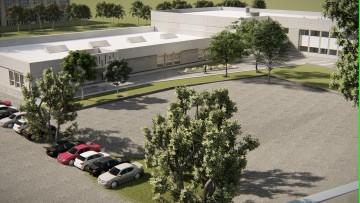 Abrirán propuestas de la licitación por la ampliación del edificio del campus