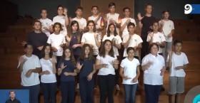 Canal 9 Mendoza | 12 de diciembre 2019 | UN EJEMPLO: ALUMNOS SE EGRESARON CON FORMACIÓN EN LENGUAJE DE SEÑAS