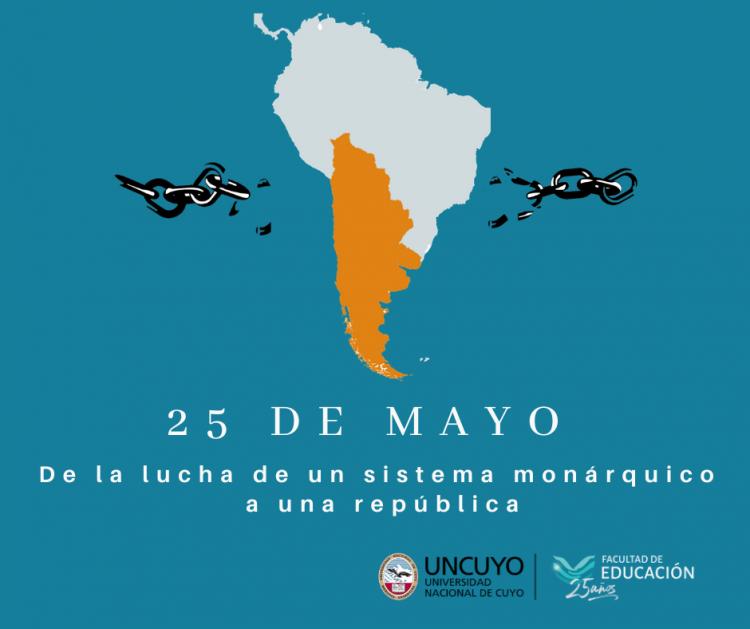 25 de mayo: de la lucha de un sistema monárquico a una república