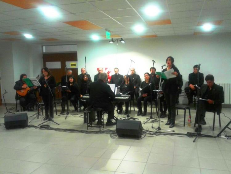 El Coro de Cámara de la Universidad actuó en la Facultad en el marco del Día de la Diversidad Cultural