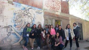 Estudiantes y profesores visitaron la Radio Comunitaria Cuyum