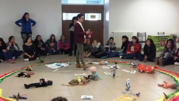 Dictaron taller sobre Arte, Educación y Género