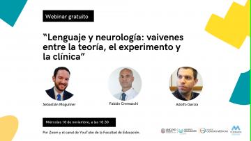 Expertos en neurociencias analizarán diversos aspectos del lenguaje y la neurología en un webinar