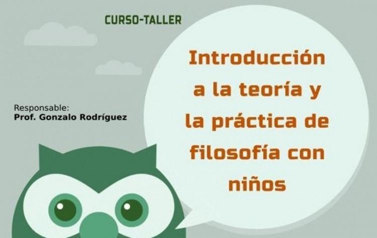 Este lunes 29 inicia el curso sobre Filosofía con niños