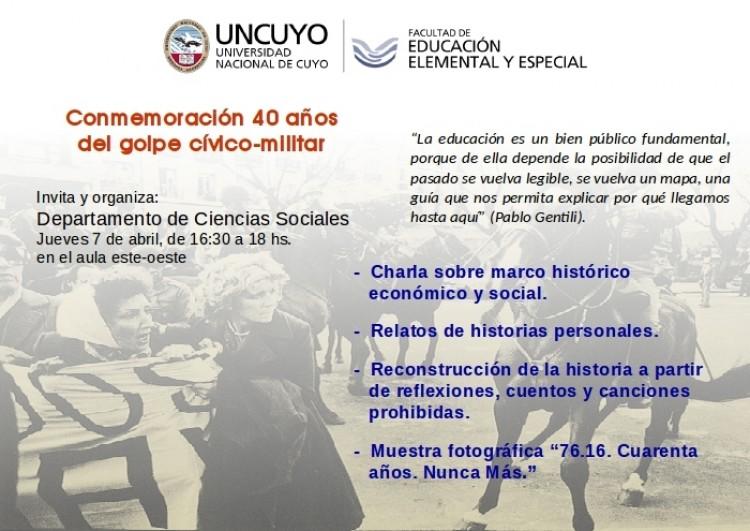 Invitación para toda la comunidad educativa de la Facultad.