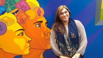 Conocé a Adriana: la estudiante que propuso la adquisición de una maqueta de laringe para la Facultad