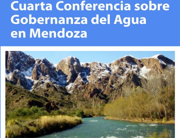 Se realizará la cuarta Conferencia sobre Gobernanza del Agua en Mendoza
