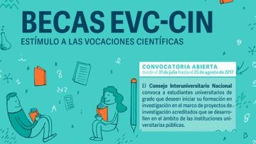 Becas de Estímulo a las Vocaciones Científicas 2017