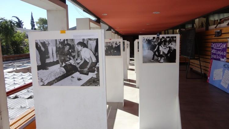 Exhiben fotografías sobre la dictadura cívico-militar