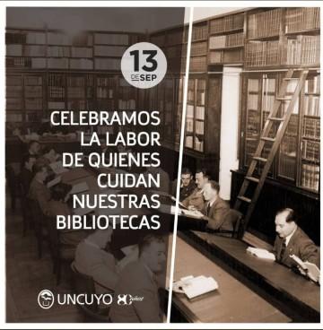 Feliz Día del Bibliotecario