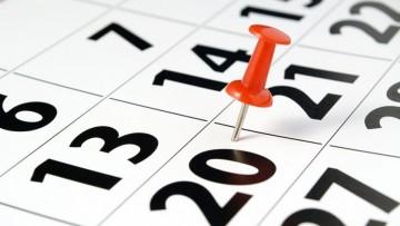 Se encuentra disponible el Calendario Académico 2019 - 2020