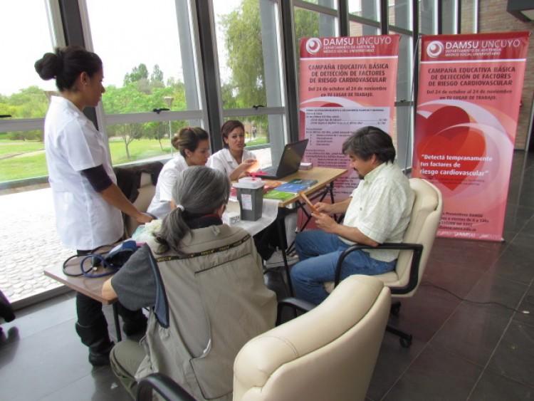 Martes 13 de junio: Campaña de salud cardiovascular en la Facultad