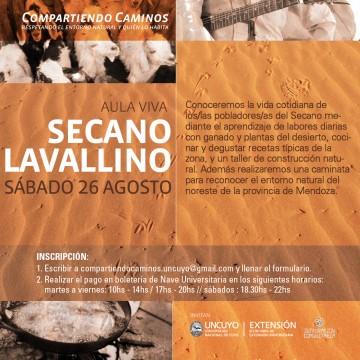 Invitan a estudiantes a conocer el Secano Lavallino