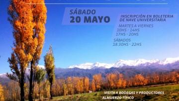 Invitan a estudiantes a conocer el Valle de Uco