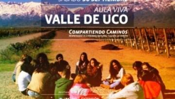 Estudiantes y personal podrán conocer el Valle de Uco