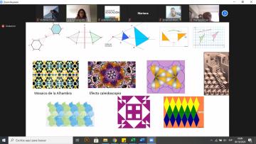 Pensaron otras formas de trabajar la geometría en el aula
