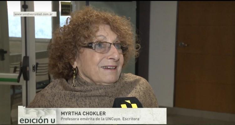 Se presentó el nuevo libro de la Dra. Myrtha Chokler