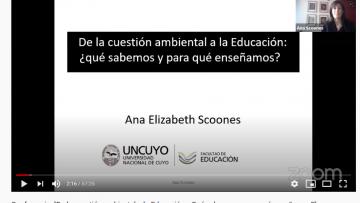 Dialogaron sobre educación, ambiente y sociedades