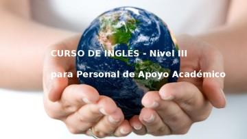Inscriben a Inglés para el personal de apoyo académico