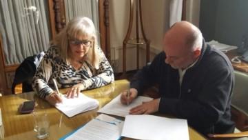 Firma de Acuerdo específico con la DGE