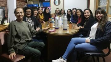 Dieron la bienvenida a estudiantes de intercambio