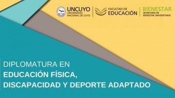 Diplomatura en Educación Física, Discapacidad y Deporte Adaptado