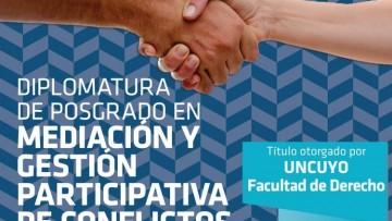 Preinscriben a la Diplomatura en Mediación y Gestión Participativa de Conflictos
