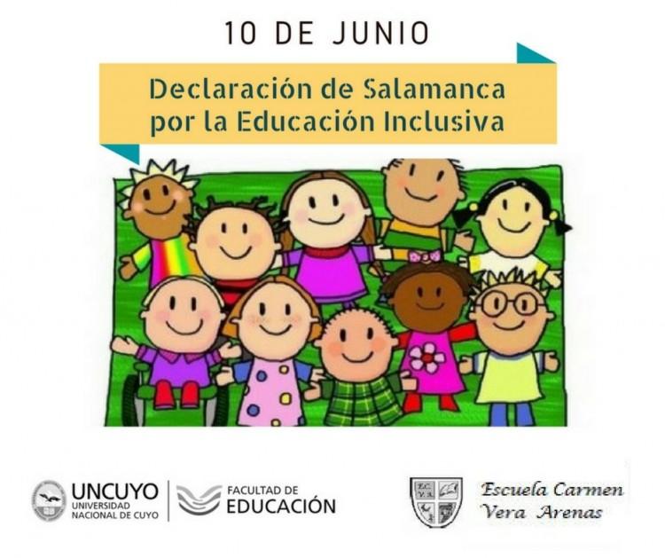 10 de junio: Día de la Declaración de Salamanca por las NEE y la Educación Inclusiva