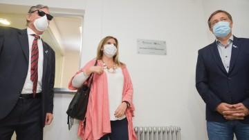 """Inauguraron la sala de internación """"María Victoria Gómez de Erice"""" del Hospital Universitario"""
