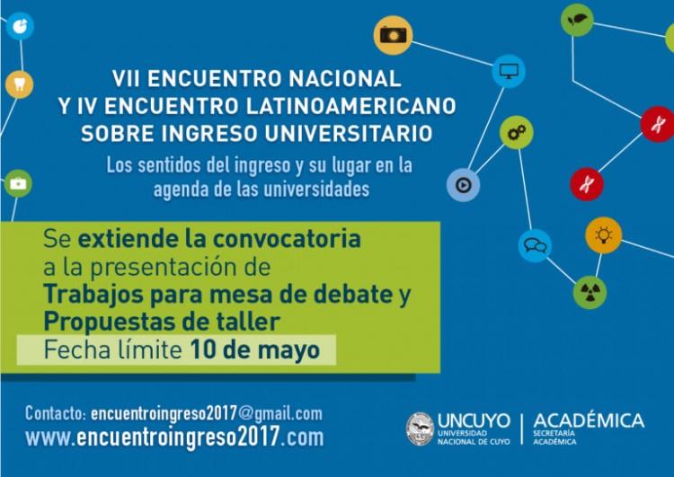 Invitan a Encuentro sobre Ingreso Universitario