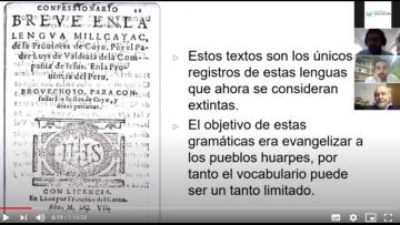 Las lenguas Huarpes fueron el eje de una conferencia de posgrado