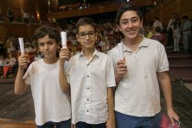 Unidiversidad | 12 de diciembre 2019 |  12 DIC   Egresaron 50 chicos que incorporaron la lengua de señas como segundo idioma