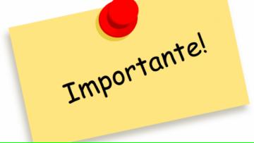 Información importante: inscripción a materias