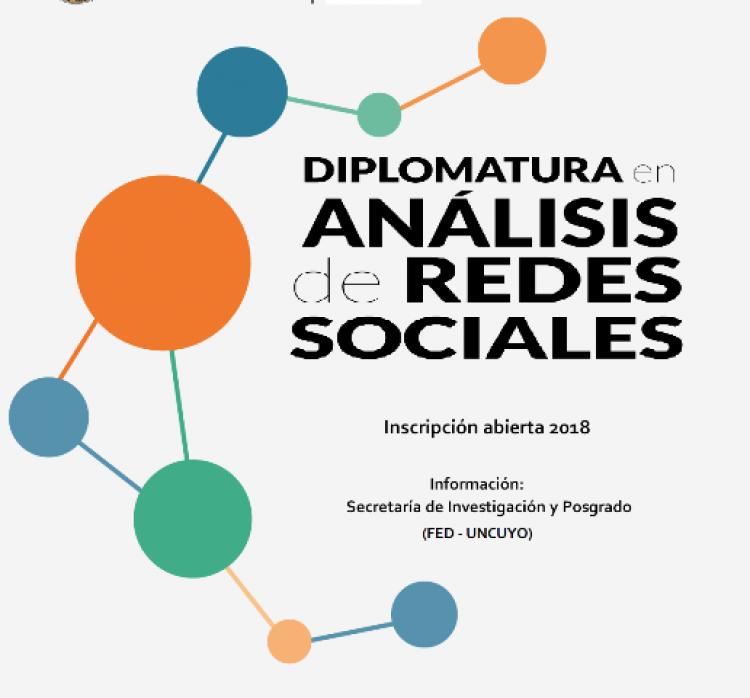 Inscripciones abiertas a la Diplomatura en Análisis de Redes Sociales