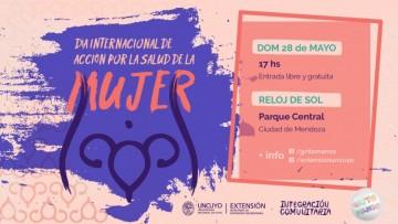 Actividades por el Día Internacional de Acción por la Salud de la Mujer
