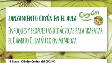 """Presentarán formalmente el curso """"Cuyún en el Aula"""" en el CICUNC"""