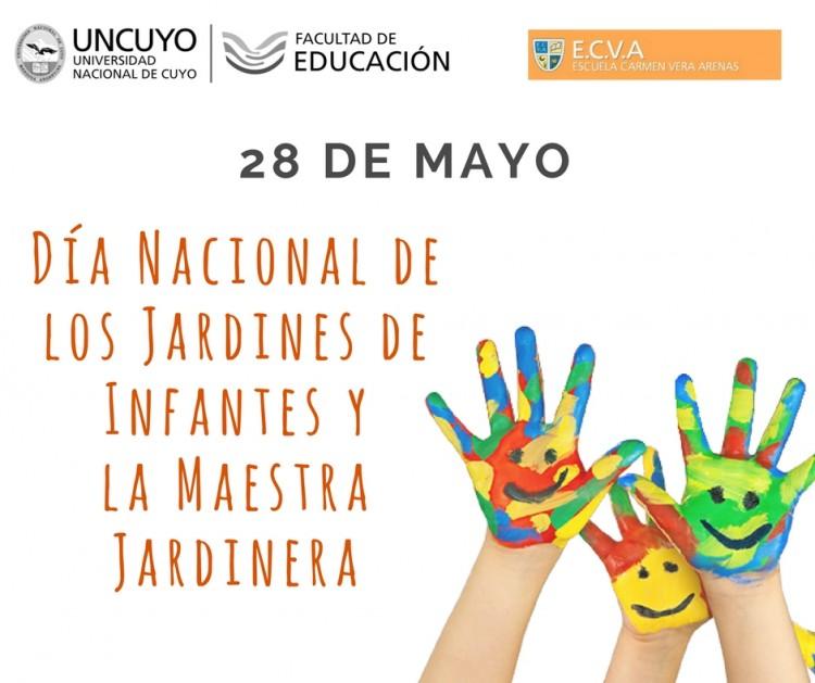 28 de mayo: Día Nacional de los Jardines de Infantes y de la Maestra Jardinera