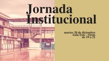 Invitan a Jornada Institucional