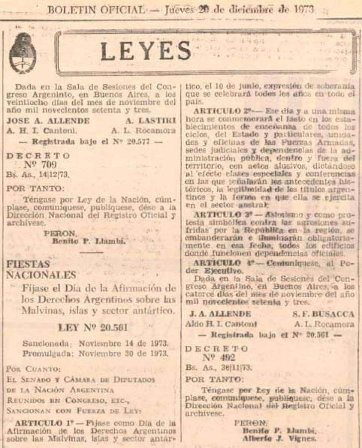 Ley 20.561