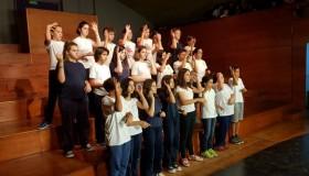Diario Uno | 10 de diciembre 2019 | Por primera vez estudiantes de primaria se formaron en Lengua de Señas