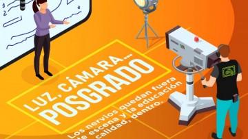 Docentes de posgrado de la UNCuyo podrán filmar material educativo en el canal de la Universidad