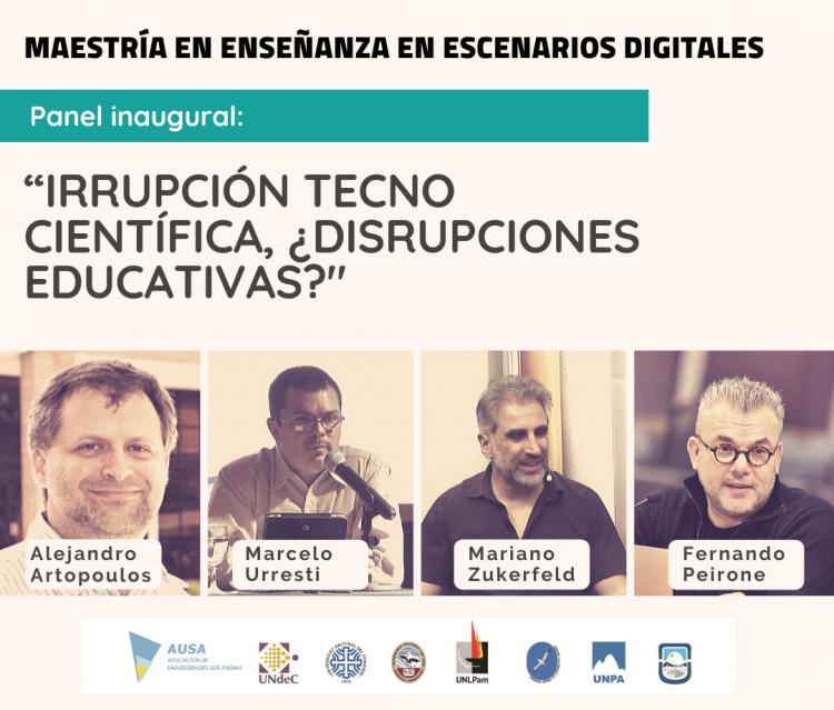 Un panel de expertos dará inicio a la Maestría en Enseñanza en Escenarios Digitales