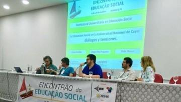 La Facultad de Educación presente en un Encuentro de Educación Social en Brasil