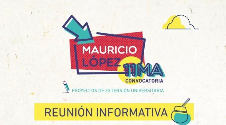 Informarán sobre proyectos sociales Mauricio López