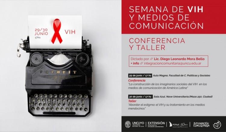 Realizarán actividades en La Semana del VIH y los Medios