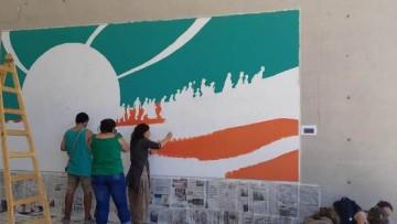Invitan a confeccionar mural colectivo en sede Campus