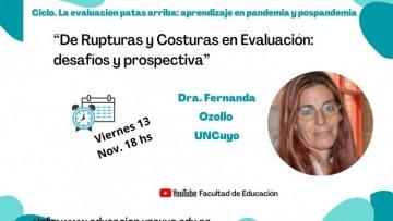 Seguí en vivo la conferencia de Fernanda Ozollo