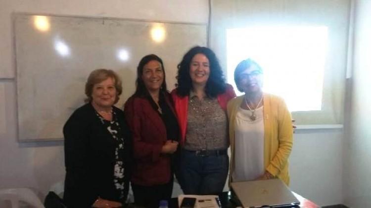 Profesoras de la Facultad participaron en Congreso de Lectura y Escritura en Mar del Plata