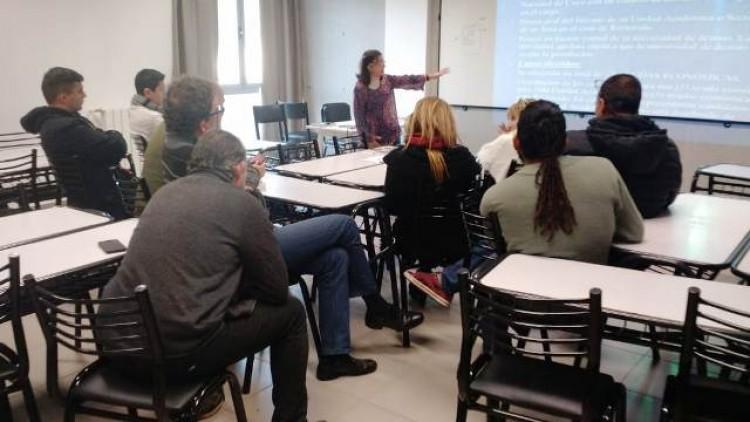 Personal de la Facultad brindó charla en el marco de Intercambio Internacional