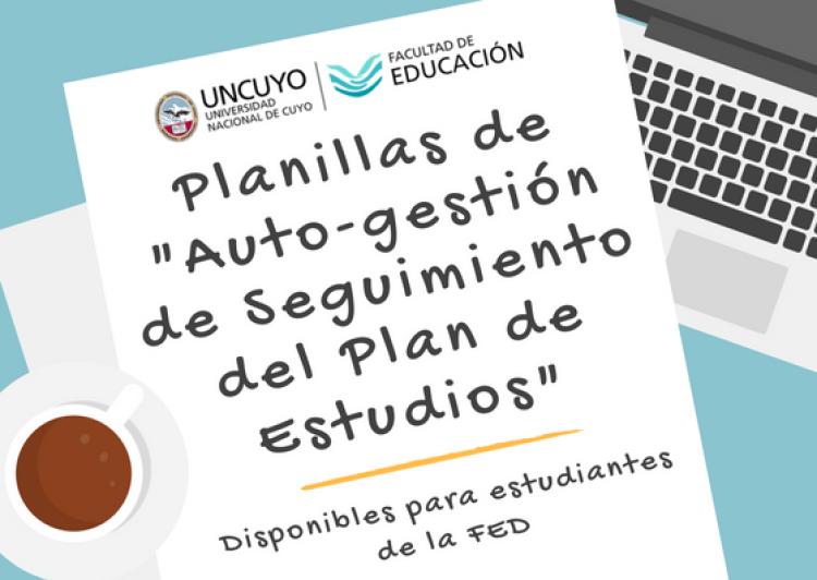 """Planillas de """"Auto-gestión de Seguimiento del Plan de Estudios"""""""